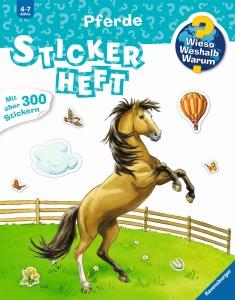 Stickerheft Pferde