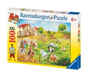 100 Teile Puzzle: Ponyhof