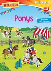 Stickerspaß: Ponys