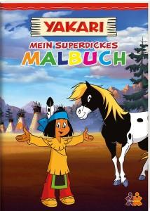 Yakari - Mein superdickes Malbuch