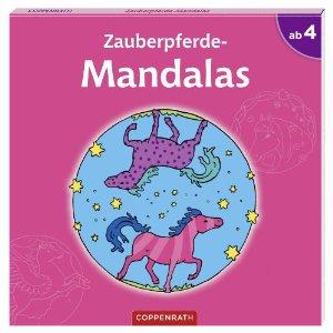 Zauberpferde-Mandalas