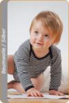 Medima Antisept Baby-Body 1/1 Arm, blau-weiß geringelt (Größe: 86/92)