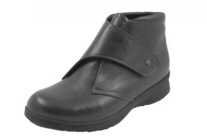 FinnComfort Damen-Stiefel Rijeka schwarz (Größe: 5 1/2)