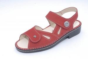 FinnComfort Sandale  Costa red (Größe: 5 1/2)