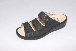 FinnComfort Sandale  Pisa Nero Andalusia (Größe: 36)