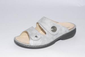 FinnComfort Sandale Sansibar Grau (Größe: 42)