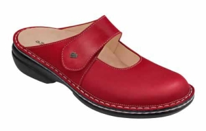 FinnComfort Damen-Clog  Stanford Red (Größe: 36)