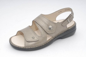 FinnComfort Sandale  Milos Fango (Größe: 37)