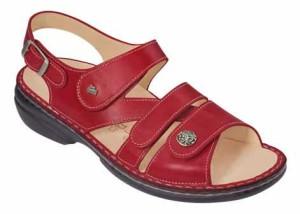 FinnComfort Sandale  Gomera  Red (Größe: 38)