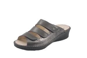 FinnComfort  Sandale Cremona Silber/Grey (Größe: 3)
