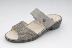 FinnComfort Damen-Sandale  Felice grey (Größe: 6 1/2)