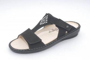 FinnComfort Sandale  VERIN schwarz nubuk (Größe: 36)