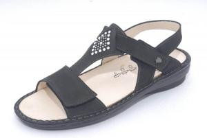 FinnComfort Sandale  Calvia schwarz nubuk (Größe: 41)
