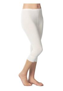 Medima Classic Damen-Hose 3/4 lang 20%  Angora schwarz (Größe: S)