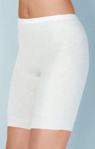 Medima Classic Damen-Schlüpfer lang 20%  Angora weiß (Größe: L)