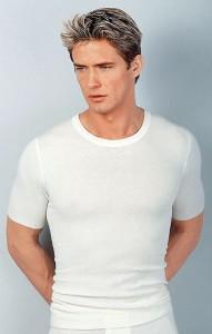 Medima Classic  Herren-Hemd 1/4 Arm 20% Angora, weiß (Größe: M)