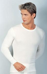 Medima  Classic Herren-Hemd 1/1 Arm 20% Angora, weiß (Größe: L)