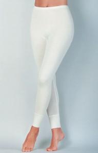 Medima Classic  Damen-Hose  lang  40 % Angora weiß (Größe: S)