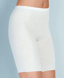 Medima Classic  Damen-Schlüpfer lang 40% Angora weiß (Größe: S)