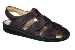 FinnComfort  Sandale Milton Nut (Größe: 45)