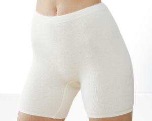 Medima Classic Damen-Schlüpfer normal  100%  Angora weiß (Größe: L)