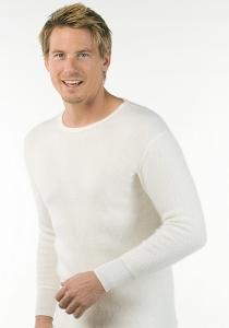 Medima Classic  Herren-Hemd 1/1 Arm 100%  Angora weiß (Größe: L)