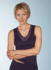 Medima Classic Damen-Hemd ohne Arm Plus Seide schwarz mit Spitze (Größe: S)