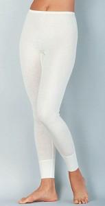 Medima  Lingerie Kaschmir/Seide Damen-Hose lang  weiß (Größe: S)