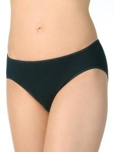 Medima Lingerie Damen-Slip 100% Seide schwarz (Größe: L)