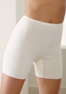 Medima  Lingerie Damen-Schlüpfer 100% Seide weiß (Größe: L)