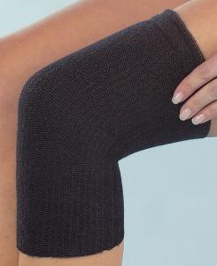 Medima Classic ThermoAS Kniewärmer (einzeln) mit Rutschbremse, schwarz (Größen: S = 31-38)