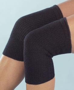Medima Classic ThermoAS Kniewärmer tri-elastisch, schwarz (Größen: S = 31-38)