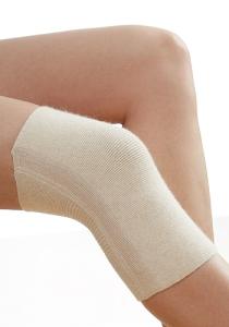 Medima Classic ThermoAS Kniewärmer (einzeln) mit Stabilisierungsspiralen,  kompakt, haut (Größen: S)