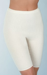 Medima Classic Damen-Schlüpfer lang 50%  Angora weiß (Größen: S)