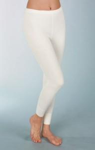 Medima Classic Damen-Unterhose lang mit 50%  Angora weiß (Größen: S)