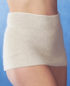 Medima Antisept Thermo-Rückenwärmer mit 40% Angora, naturmelange (Größe: S)