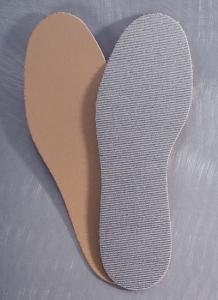 Medima Antisept Einlegesohle mit PE und Silber, naturmelange (Größe: 35)
