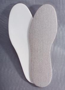 Medima Antisept Einlegesohle mit Latex, naturmelange (Größe: 35)