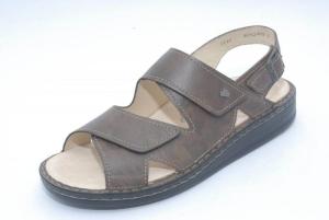 FinnComfort Sandale  Toro-Soft Braun (Größe: 42)