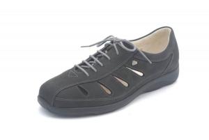 FinnComfort Damenhalbschuh Ciovo-Soft schwarz (Größe: 7)