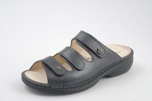 FinnComfort Damen-Sandale Menorca-Soft Notte (Größe: 36)
