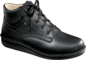FinnComfort - Prophylaxe  Stiefel 96104 mit Schnürsenkel schwarz (Größe: 37)