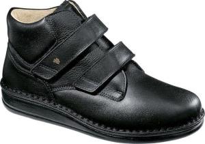 FinnComfort - Prophylaxe  Stiefel 96106 mit Klettverschluss schwarz (Größe: 37)
