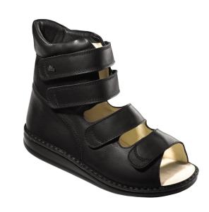FinnComfort - Prophylaxe Sandale  96202 SponaRind Schwarz (Größe: 35)