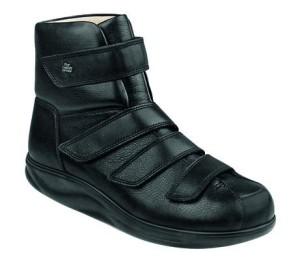 FinnComfort - Prophylaxe Stiefel mit Klettverschluss 97304 schwarz (Größe: 8 1/2)