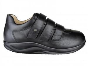 FinnOrtho 97910 Halbschuh schwarz, mit versteifter Brandsohle (Größe: 6)