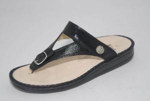 FinnComfort Zehensteg-Sandale ALEXANDRIA-S schwarz (Größe: 37)