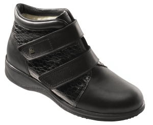 FinnComfort  Stiefel Biel schwarz Wollfutter (Größe: 5 1/2)