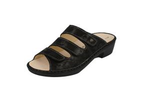 FinnComfort  Sandale CANZO Nero Chenile (Größe: 7,5)
