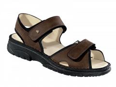 FinnComfort Sandale Colorado  havanna/schwarz (Größe: 7)